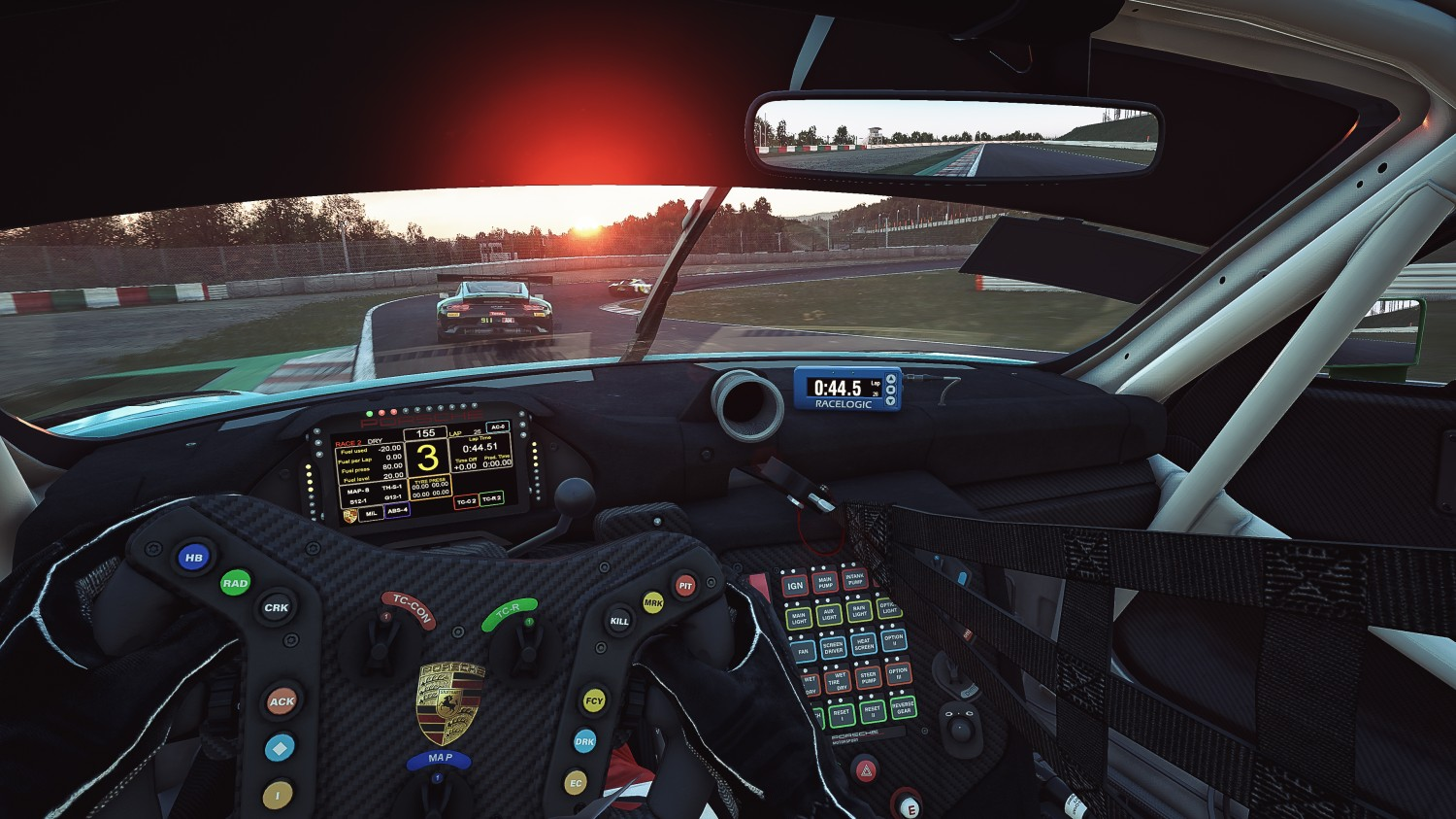 GT World Challenge Asia Esports Charity Cup - Suzuka - 91 Terry Rayton Australia Laundry House Porsche 991 GT3 R Sim-AM