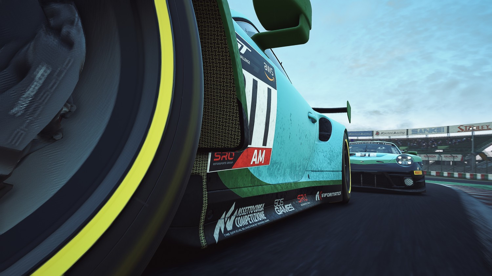 GT World Challenge Asia Esports Charity Cup - Suzuka - 911 Andrew Laurenson Australia Laundry House Porsche 991 GT3 R Sim-AM