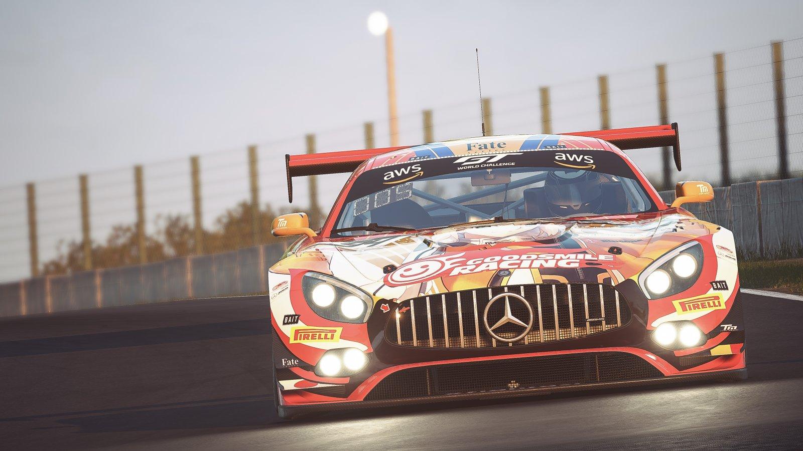 GT World Challenge Asia Esports Charity Cup - Suzuka - 94 Zheng Yin China Private Mercedes-AMG GT3 Sim-PRO