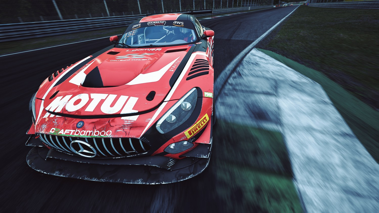 Esports R1 - Monza - Kevin Tse Mercedes-AMG GT3 Craft-Bamboo Racing 38 MAC AM