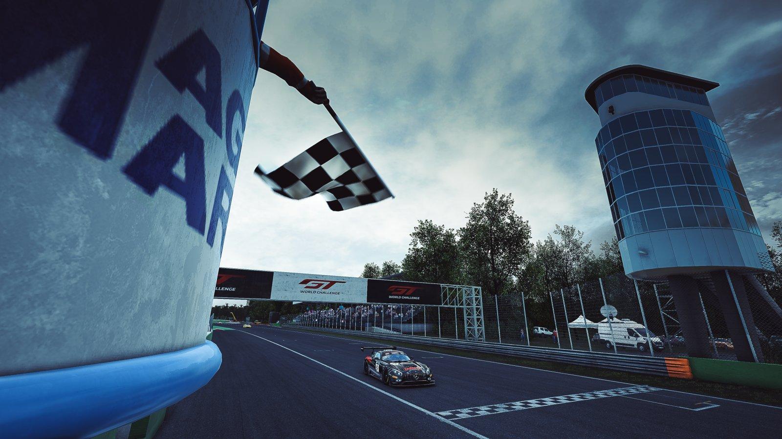 Esports R1 - Monza - Duvashen Padayachee Mercedes-AMG GT3 Tarmac eMotorsports 45 AUS PRO