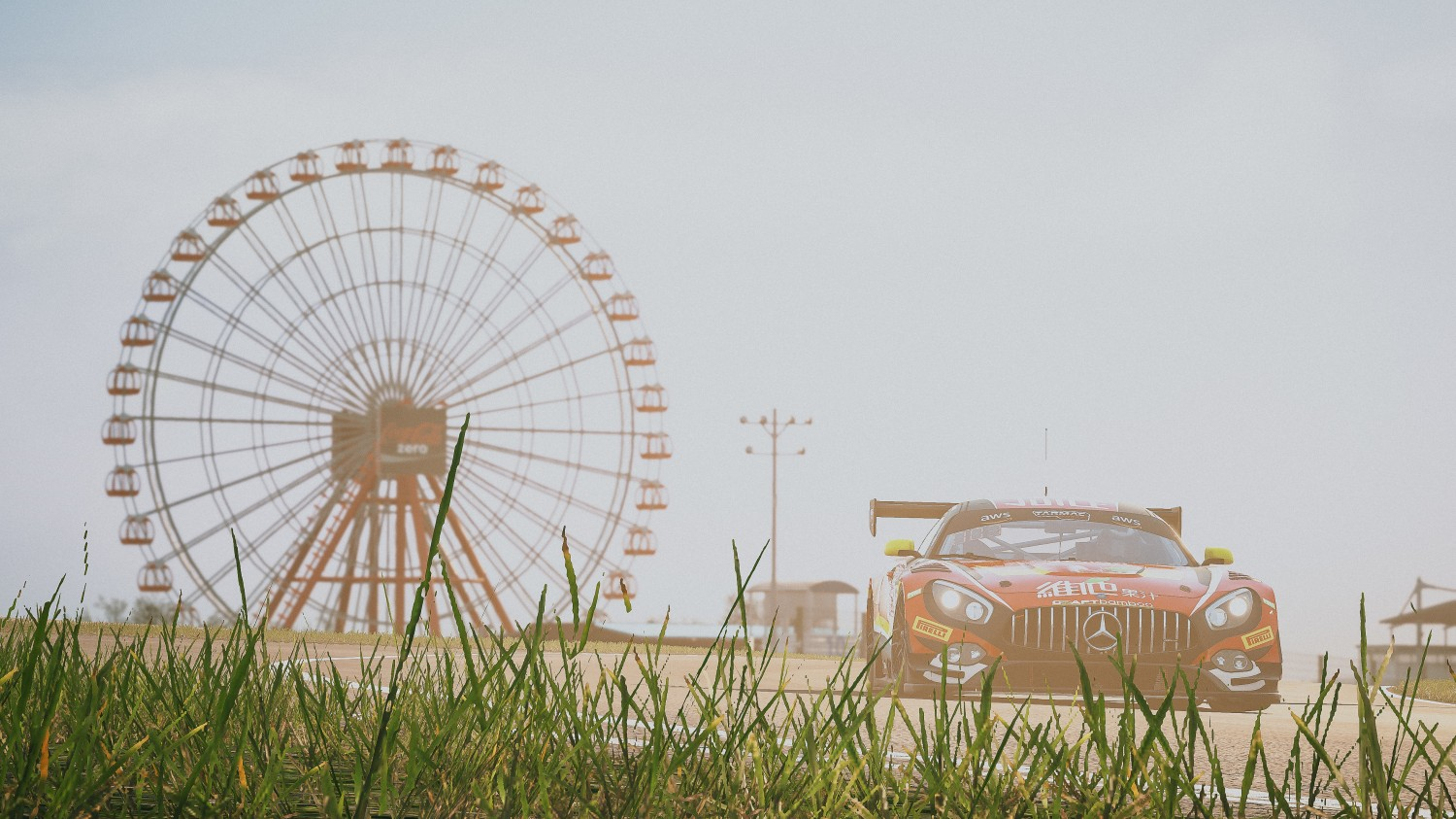 36 Matt Solomon Mercedes AMG GT3 Craft-Bamboo Racing