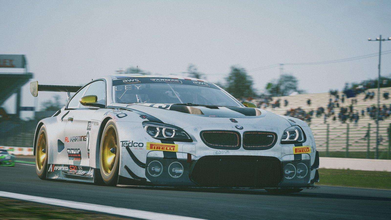 213 Tengku Ezan Ley BMW M6 GT3 Tedco Racing