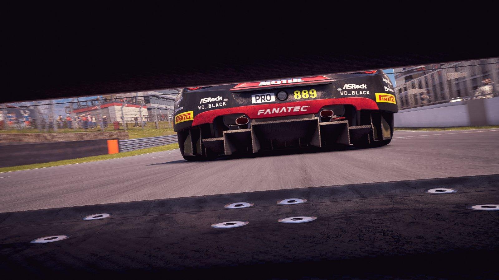 Brands Hatch 889 Andika Rama Maulana Ferrari 488 GT3 Evo Legion of Racers