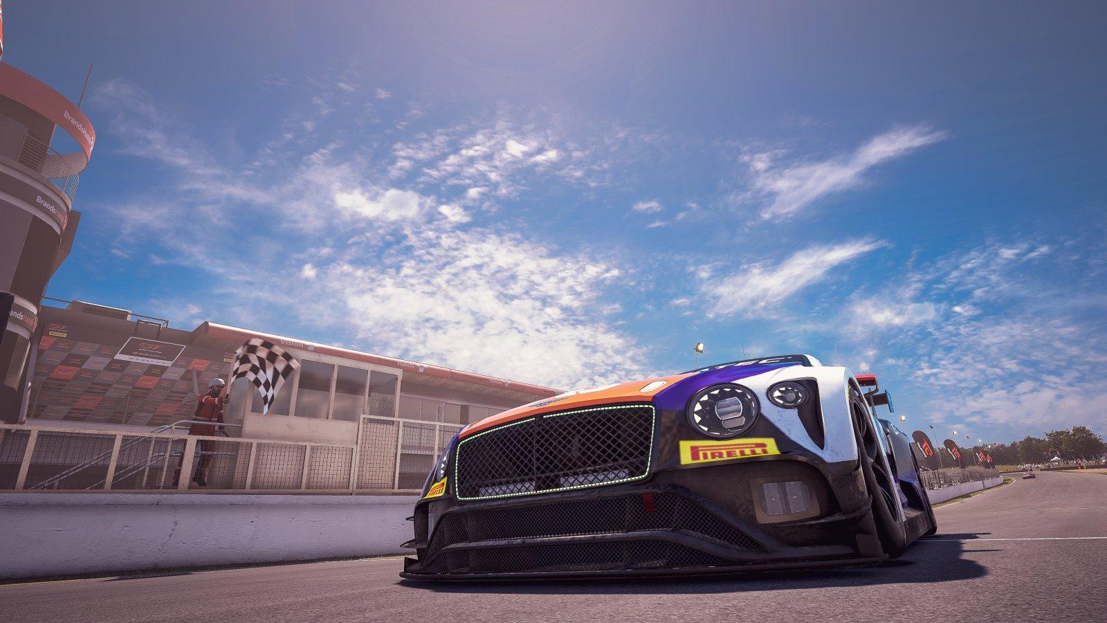 Brands Hatch 57 Dayne Warren Bentley Continental GT3 VRS Coanda Simsport