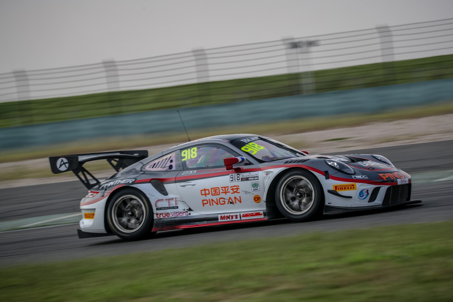 FP1: Panther/AAS and iRace.Win top opening session at Shanghai