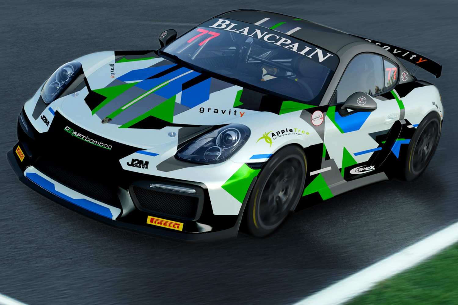 Craft-Bamboo confirms full Porsche factory line-up for
