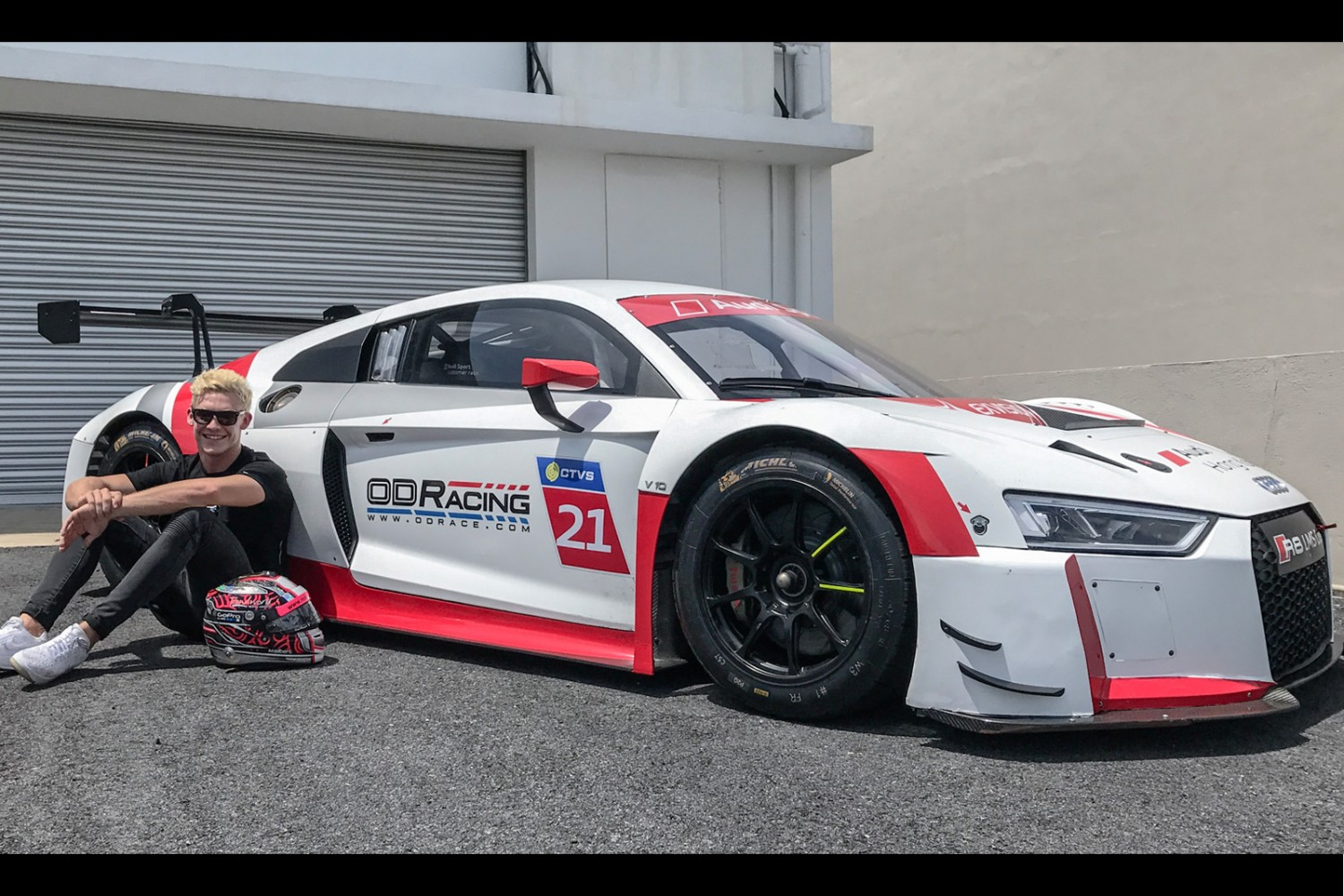 Od Racing Confirms Audi R8 Lms Gt3 And Gilbert For Blancpain Gt