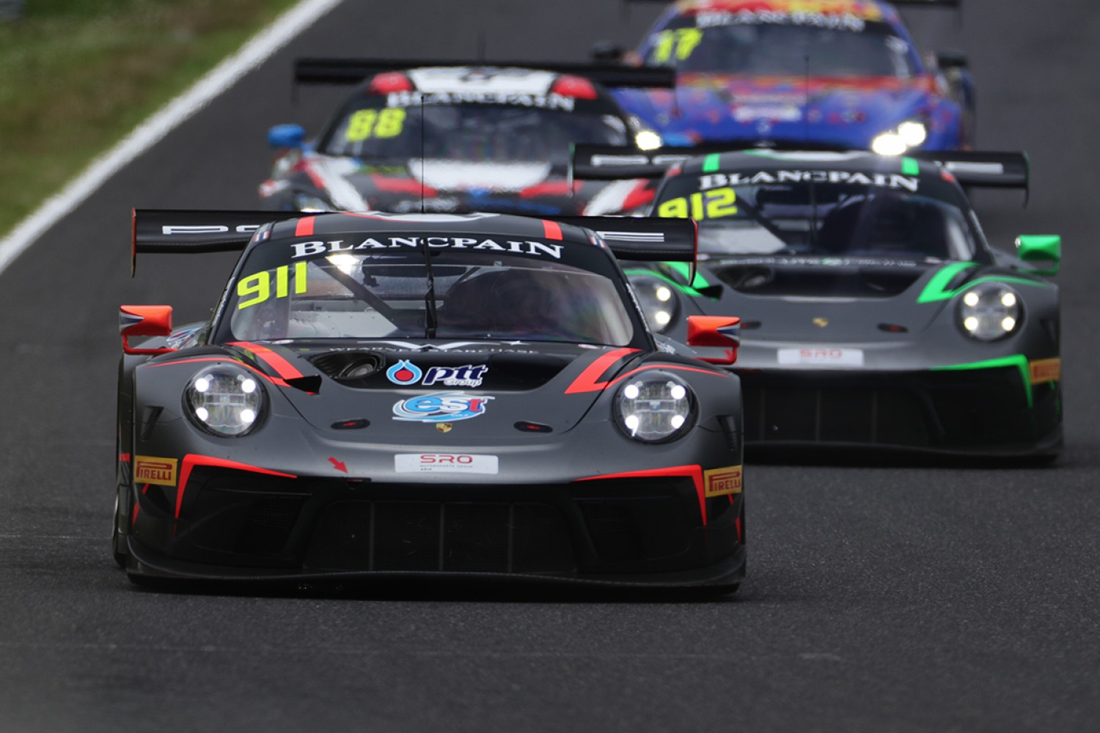 Absolute Racing's Sathienthirakul and Hamprecht lead Porsche