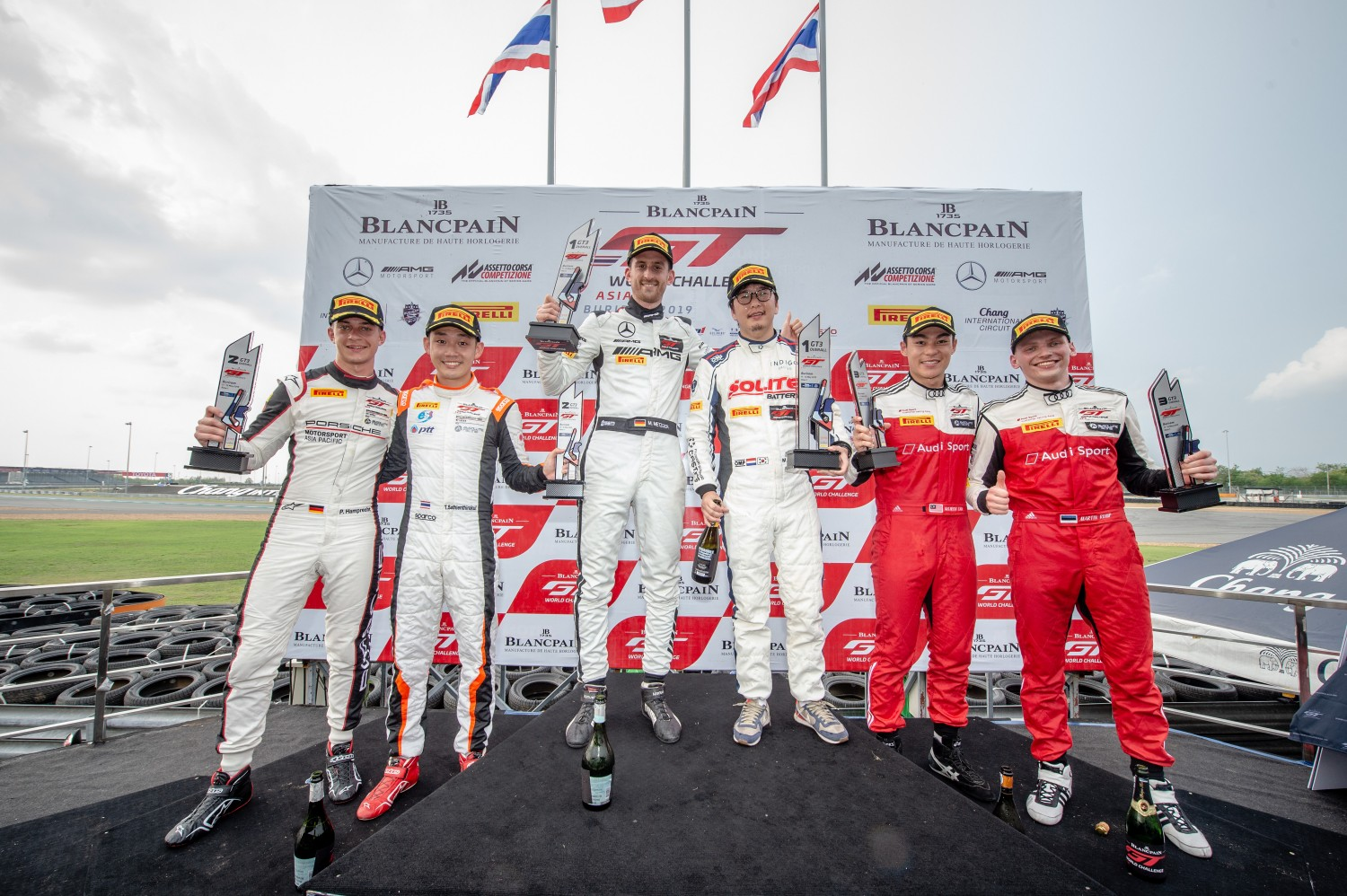 Indigo's Choi and Metzger power to first Blancpain GT World Challenge Asia victories at Buriram