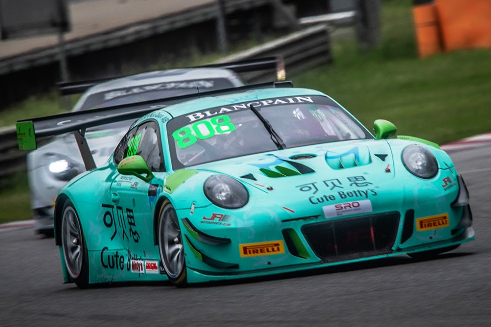 JR-M's Chao and Van der Drift join Blancpain GT World Challenge Asia with Porsche